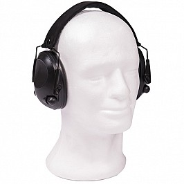 CASCO ELECTRONICO</br>BLACK ACTIV EAR PROTECTION