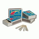 CERILLAS MIL-TEC A PRUEBA DE VIENTO (1 CAJA CON 20</br>WINDPROOF MATCHES (20 UNITS PER BOX)