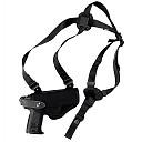 FUNDA CORD. MOLD. VEGA</br>Horizontal shoulder and belt holster